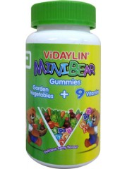 ViDAYLIN, Minibear Gummies, Berry flavour, 60 Gummies, Pack of 2